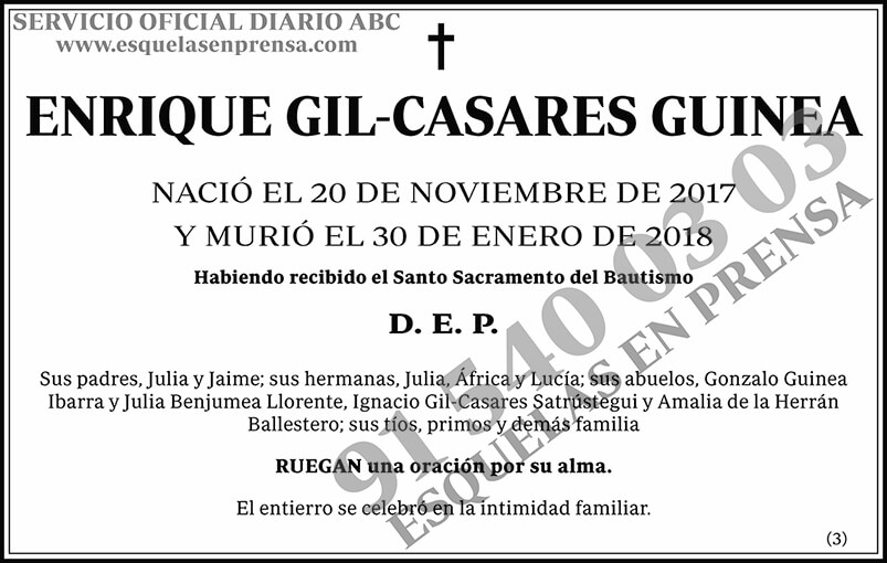 Enrique Gil-Casares Guinea